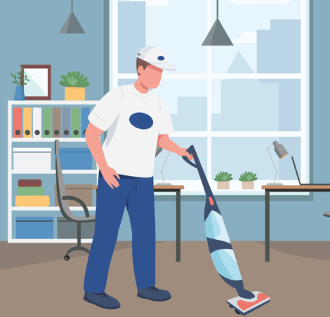 office 3 470x452 - Office cleaning