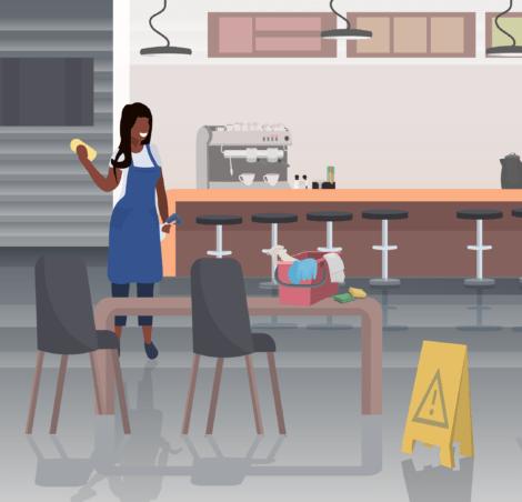 restaurant 1 470x452 - Restaurant cleaning services